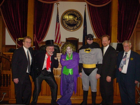 Batman on trial
